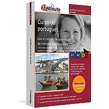 Curso de portugués para principiantes (A1/A2): Software compatible con Windows y Linux. Aprende portugués con el método de aprendizaje de memoria a largo plazo