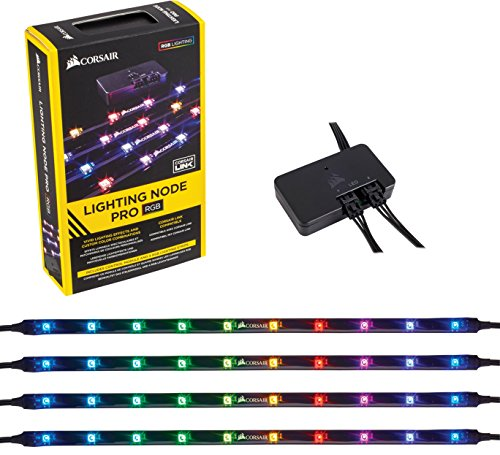 Corsair Lighting Node PRO Controller Illuminazione RGB con Strisce RGB LED Controllabili Singolarmente