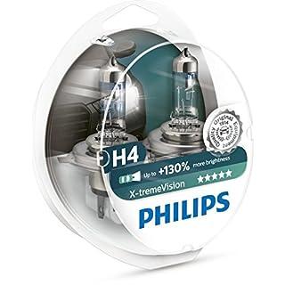 Philips 12342XV+S2 X-tremeVision +130%  Scheinwerferlampe, H4, 2er-Set