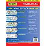 2020 Philip's Big Road Atlas Europe: (A3 Spiral binding) (Philip's Road Atlases) 20