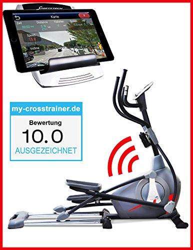 Sportstech Elite Crosstrainer CX650 Elliptical mit elliptischem Bewegungsablauf und Smartphone App Steuerung...