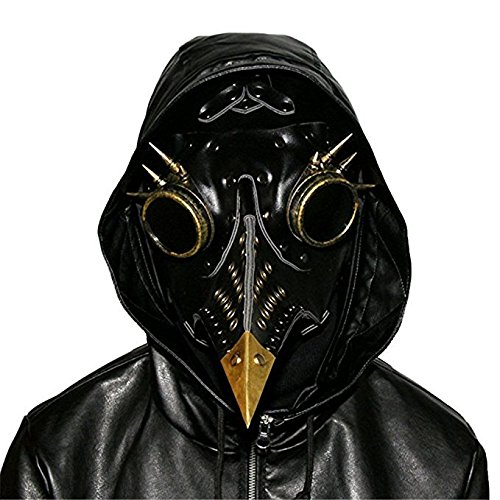 st Arzt Schnabel Masken Steampunk PU Vögel Kunst Karneval Kostüm (Pest Arzt Kostüme)