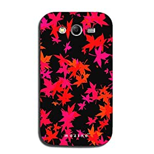 Mozine Maple Pattern printed mobile back cover for Samsung galaxy grand neo