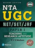 #6: NTA UGC NET/SET/JRF - Paper 1: Teaching and Research Aptitude by Pearson