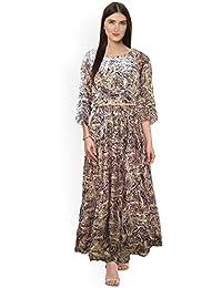 3e6d2355b1 Generic Women s Cotton Silk Viukart Party Wear Skirt and Top Set (GKPRA22