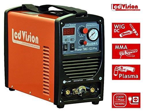 3in1 Schweißgerät TMC-123 Pro WIG TIG + MMA + Plasmaschneider Inverter