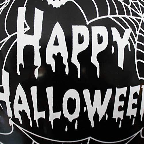 Pynxn - 10pcs 12 Zoll Latexballons Spinnen-Netz-Kürbis Horror Halloween Dekoration Globos Helium Air Ball Kinder Spielzeug-Geburtstags-Party-Dekor [Spinne]