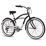 "26"" Zoll ALU BEACHCRUISER HERRENFAHRRAD CHRISSON SANDO mit 6 Gang"