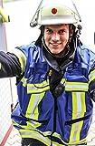 Feuerwehr Kennzeichnungsweste - BLAU - Warnweste - HupF MIH Medical