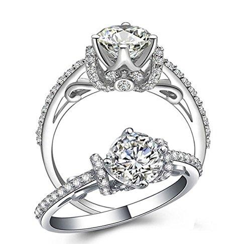RussianHeartsDiamonds.com  -  Nicht zutreffend Kein Metall Keine Angabe - Engagement Tiffany Diamant-ring