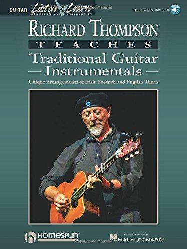 Richard Thompson Teaches Traditional Guitar Instrumentals Book/Audio
