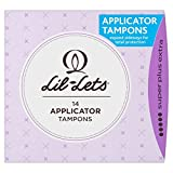 4 x Lil-Lets Applicator Tampons Super Plus Extra 14s