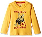 612 League Baby Boys' T-Shirt (ILW00S350032C_Mango Yellow_18-24 months)