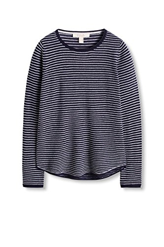 ESPRIT Damen Pullover Mehrfarbig (Navy 2 401)