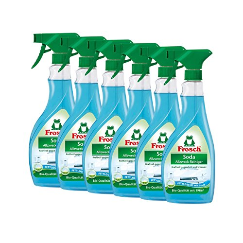 6x Frosch Soda Allzweck-Reiniger 500 ml Sprühflasche