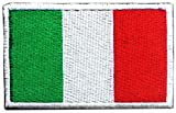 DCCN Adesivo in Tactical Patch Airsoft Stemma Militare, Patch con Inserto in Tactical Patch per Zaini - Bandiera italiana
