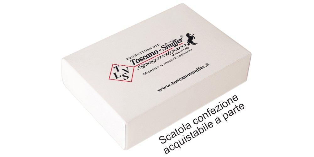DAL PRODUTTORE DELL'ORIGINALE E BREVETTATO Toscano - Snuffer la SCATOLA di Confezione Regalo per gli