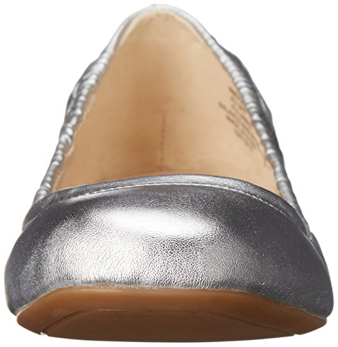 Nine West Goalie Synthetic Ballerinas Silver