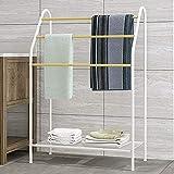 Towel rack Etagère à Serviettes sur Pied Etagère de Salle de Bains au Sol Etendoir...