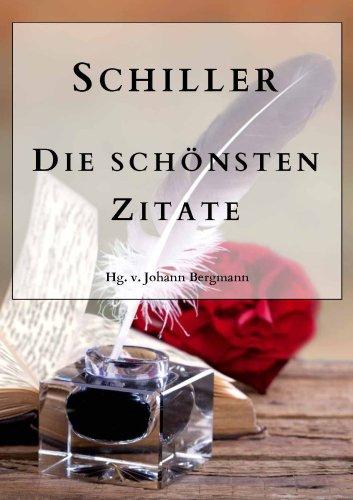 Schiller Die Schönsten Zitate Ebook Friedrich Von Schiller Johann