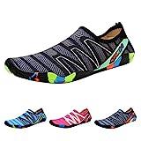 QIMAOO Chaussures de Plage Chaussures Sports Aquatique Unisexe Chaussons d'eau