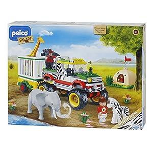 DSO ODS 35516-PRICÒ Safari Jeep Playset, 355Piezas