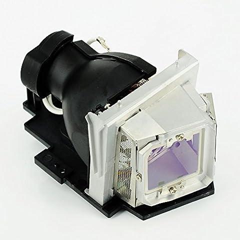 HAIWO 317-1135/725 A 10,134 bombilla de repuesto de alta calidad Compatible del proyector con carcasa para proyector Dell R511J en la que desea que 4310WX 4610x.