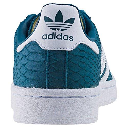 Notte Metallico Campus Adidas Sneakers Bianco Turchese benzina Oro Calzature Bassi Femme ZwHSwYq