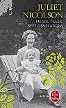 Mères, filles, sept générations par Nicolson