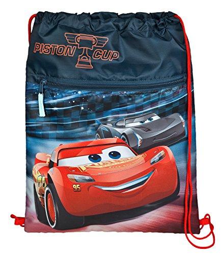 Undercover Schuhbeutel, Disney Pixar Cars 3, Circa 40 x 32 Turnbeutel, 40 cm, Blau