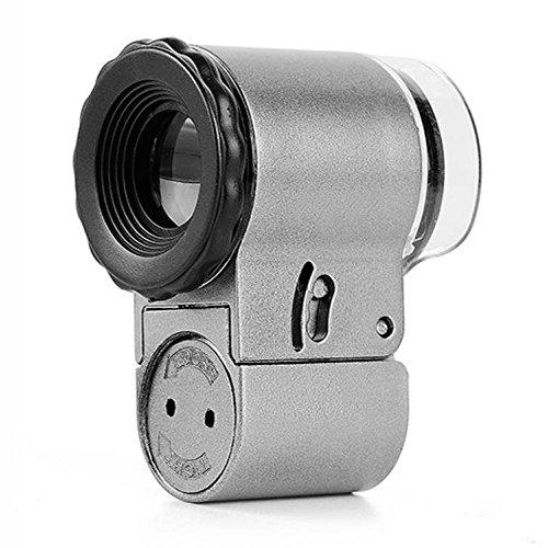 Moskito-Lampe Fokussierbarer Schmuck Loupe Super High Clarity Magnifier, Verwendung für...