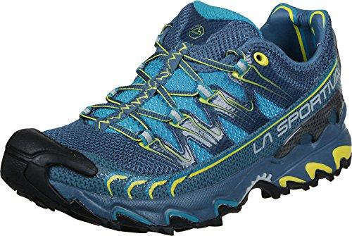 La Sportiva Ultra Raptor, Zapatillas de Trail Running para Hombre, (Blue/Sulphur 000),...