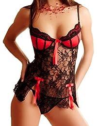 Lencería Mujer Amlaiworld Mujeres arco traje de especias tentación ropa interior ropa ...