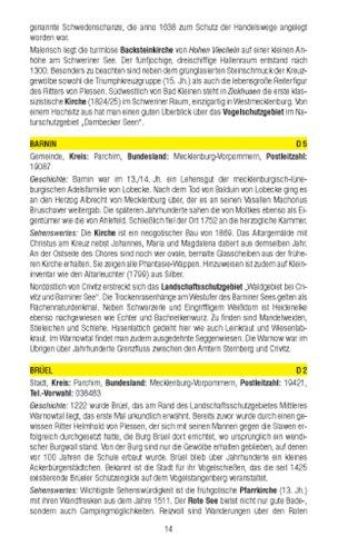 Schweriner Seengebiet: Wanderkarte mit Radrouten und KOMPASS-Lexikon. GPS-genau. 1:50000 (KOMPASS-Wanderkarten) - 2