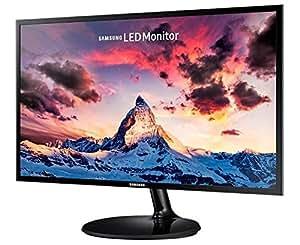 """Samsung S24F350 Monitor 24"""" Full HD, 1920 x 1080, 60 Hz, 5 ms, D-Sub, HDMI, Pannello PLS, Nero"""