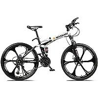 Novokart-Sports Pliables/vélo de Montagne 24/26 Pouces 6 Roue de Coupe, Blanc