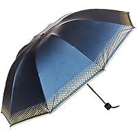Aerusi Sun Rain Ombrello Ombrelli pieghevoli Anti-UV Leggero Ombrelli Pieghevoli Opere Proteggere la Pelle in Estate