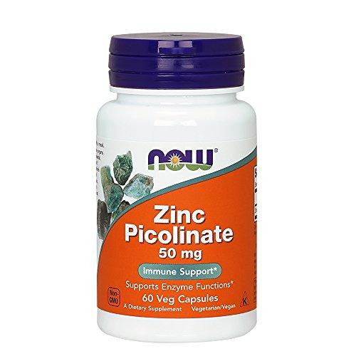 VITAMINA Now Foods Zinc Picolinate 50 mg Veg Capsule NOW1550