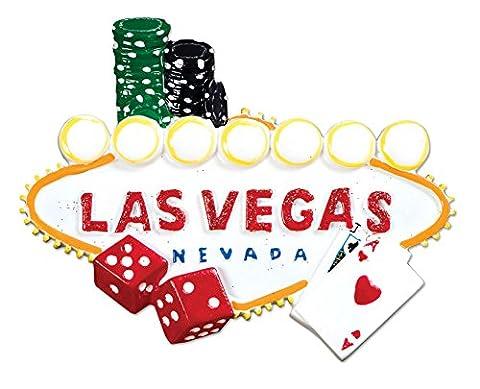Personalisierte Weihnachtsschmuck travel-las Vegas - WE CUSTOMIZE for you