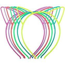 Candygirl niña de plástico diadema Tiara conejo gato lazo hairbands
