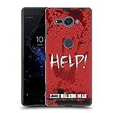 Offizielle AMC The Walking Dead Help Zitate Ruckseite Hülle für Sony Xperia XZ2 Compact