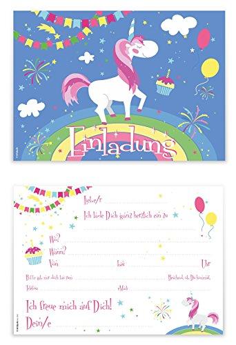 ... Geburtstagseinladungen Einladungen Geburtstag Kinder Jungen Mädchen  Einladungstext Vorlagen Karten Set. Bilder Vergrößern