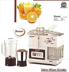 Tefon Juicer Mixer Grinder Nova+