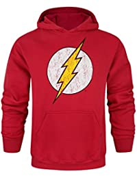 Hommes - Official - The Flash - Sweat À Capuche