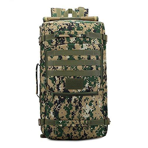 e-jiaen zaino 75L alta capacità borse a tracolla/borsa per archiviazione o organizzatore di Comping trekking viaggio alpinismo sport accessori da pesca, C1 C4