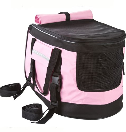 Valentina Valentti PET STROLLER, PUSHCHAIR FOR PETS IN PINK COLOUR, all in one pet stroller, pet carrier, dog car seat 2