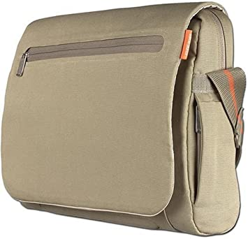 Belkin NE-MS 15.4 Inch Canvas Messenger Laptop bag: Amazon.co.uk ...