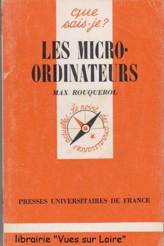 Les micro-ordinateurs