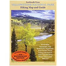Earthwalk Press 115903 Yellowstone National Park Wandern Map and Guide Earthwalk Press