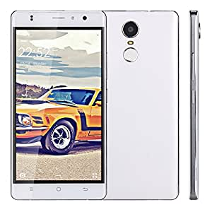 "5.5""Juning Q6 3G Smartphone Fingerprint Scanner Android 6.0 MTK6580 Quad Cores CPU Dual SIM 1GB RAM 8GB ROM Smart Wake Air Gestures GPS Wifi Cellulare"